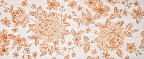 Декор Грация Fabric beige decor 01 250x600